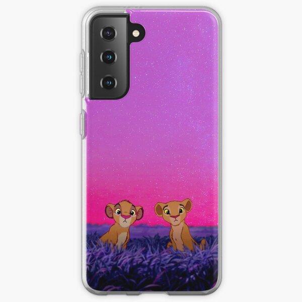 Lion King Animated Simba Nala  Samsung Galaxy Soft Case
