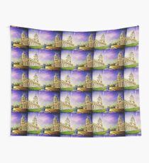 Return from the past. Wall Tapestry