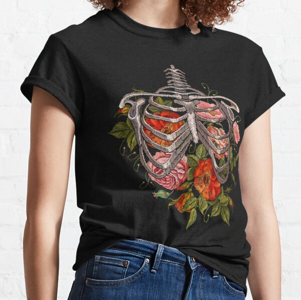 Bones and Botany Halloween Costume Classic T-Shirt