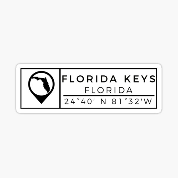 Florida Keys, Florida Sticker