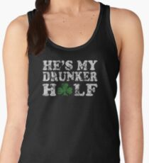 He's My Drunker Half Funny Couples T-Shirt