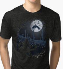 Tonight Gehrman joins the hunt. Tri-blend T-Shirt
