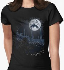 Tonight Gehrman joins the hunt. Women's Fitted T-Shirt
