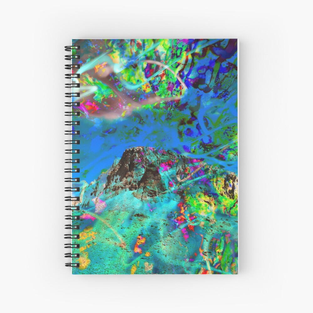 Peaking Spiral Notebook