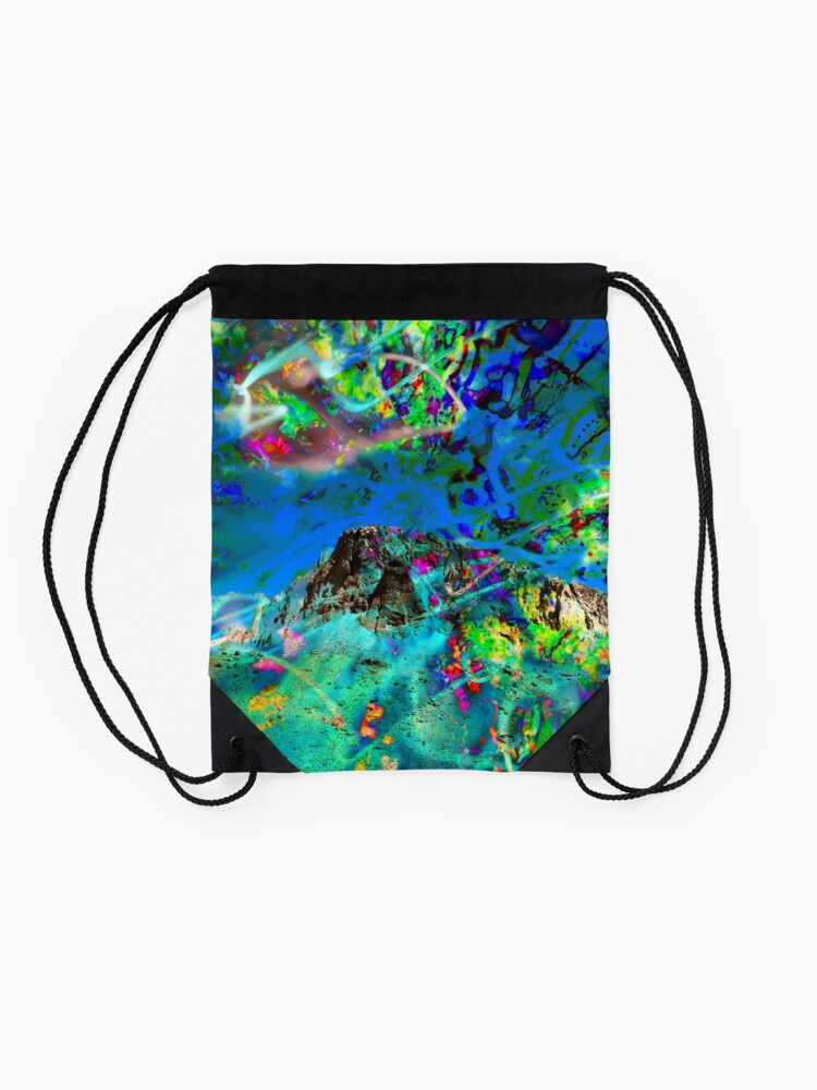 Alternate view of Peaking Drawstring Bag