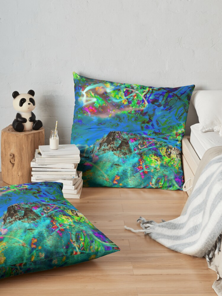 Alternate view of Peaking Floor Pillow