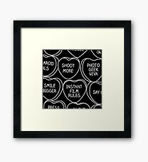 Conversation Hearts For Photographers Framed Print