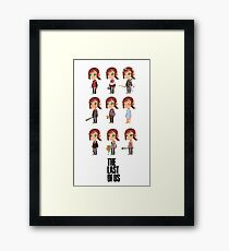 She was the first to go Framed Print