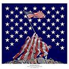 The Empire strikes back - Iwo Jima by neonunchaku