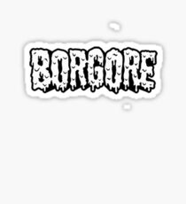 BORGORE LOGO Sticker