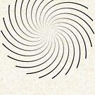 Spiral 8 Black by Rupert Russell