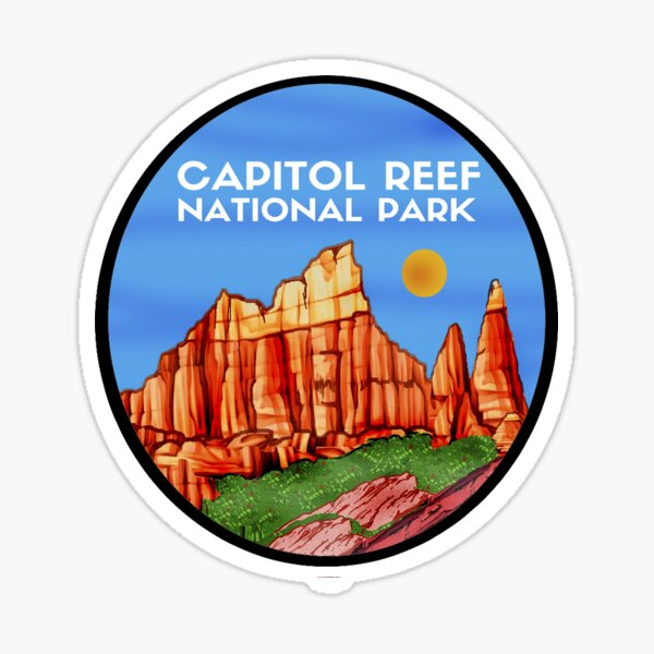 VISIT THE CAPITOL Sticker