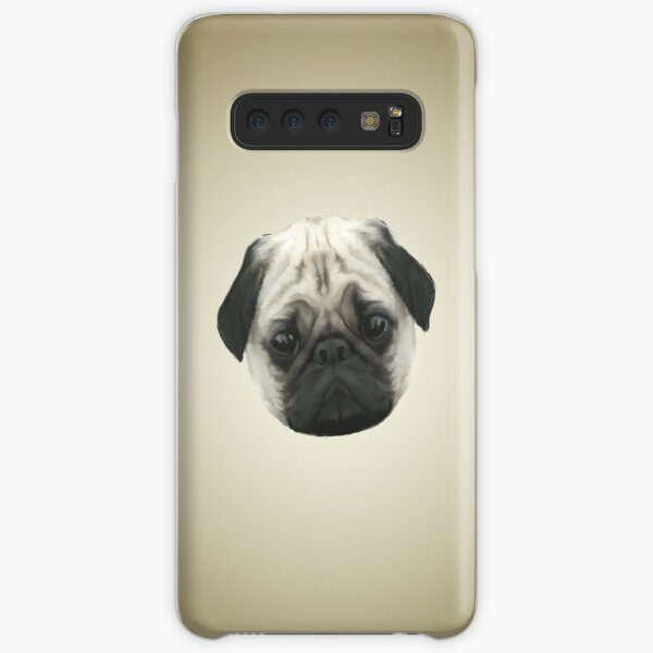 Pug Head Samsung Galaxy Snap Case