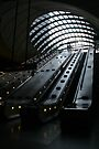 Canary Wharf Tube Station - London, England by Allen Lucas
