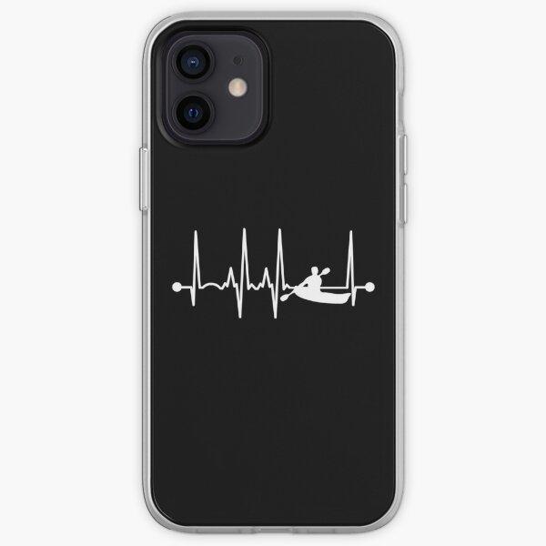 Kayaking Heartbeat iPhone Soft Case