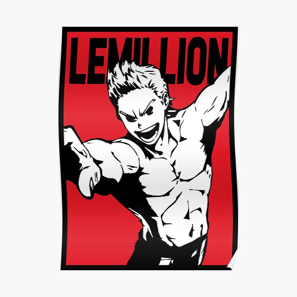 "Mirio ""Le Million"" Togata Poster"