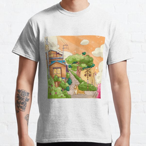 Sunset in Countryside  Classic T-Shirt