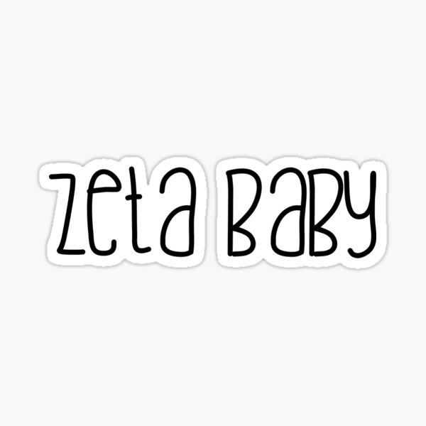 zeta baby Sticker