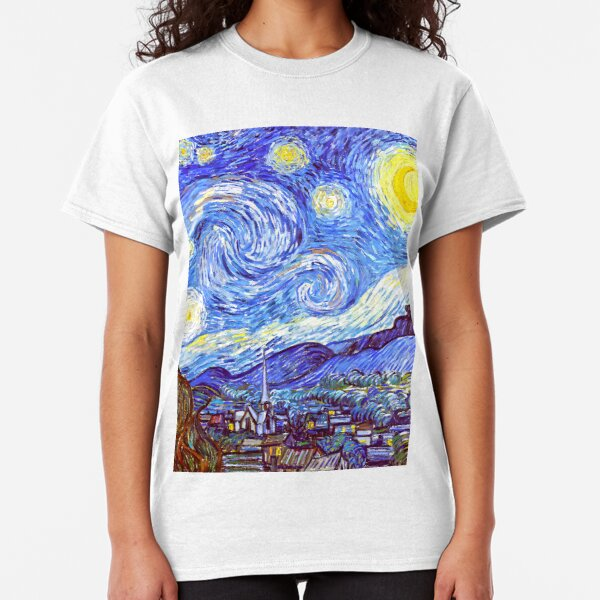 'The Starry Night' HDR Classic T-Shirt