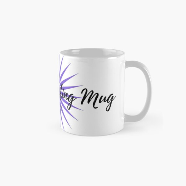 Manifest It! My Manifesting Mug White & Purple Classic Mug