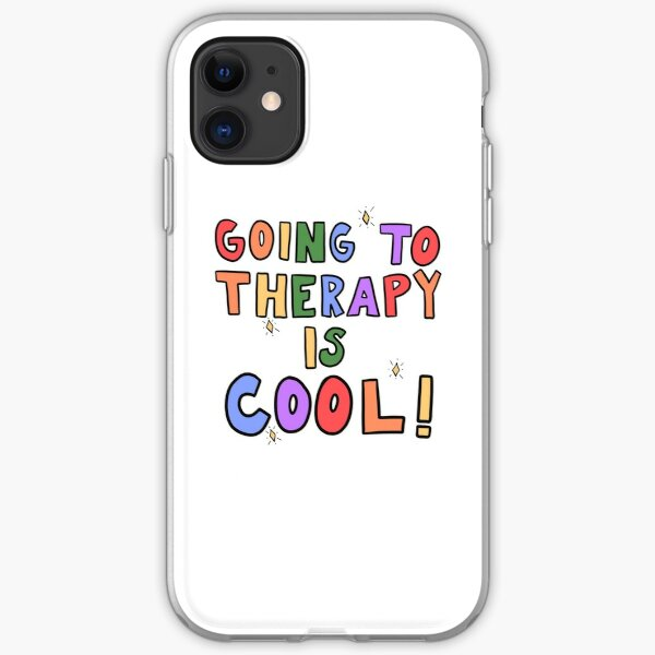 Going To Therapy Is Cool! iPhone Soft Case