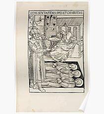 Opera Hrosvite, Illustrious virgin nun and genuine Albrecht Durer 1501 0052 Poster