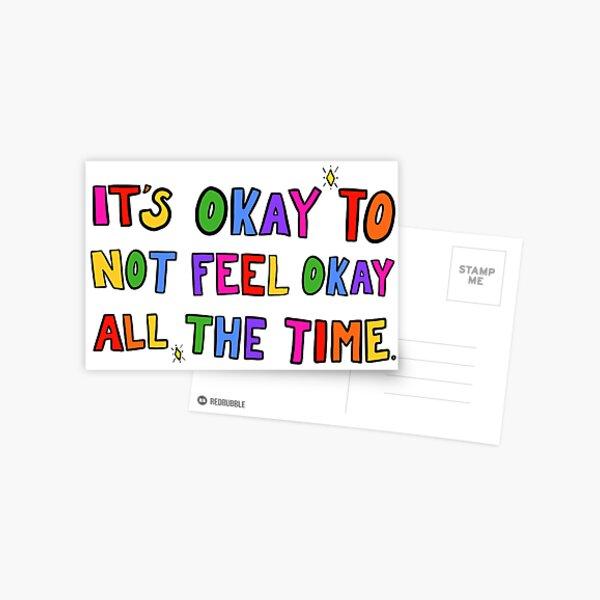 It's Okay... Postcard