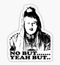 Vicky Pollard, No But, Yeah But, Little Britain T-shirt Sticker