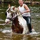 Gypsy at Appleby Horse Fair by Brian Tarr