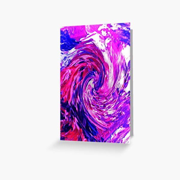 Energetic Delight! Greeting Card
