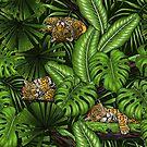 Jungle kitties by Katerina Kirilova