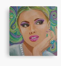 Pensive Portrait Canvas Print