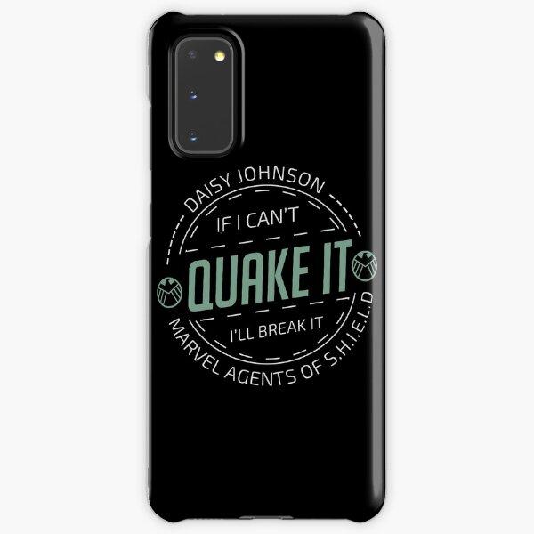 If i can't quake it, i'll break it - Daisy Johnson Samsung Galaxy Snap Case