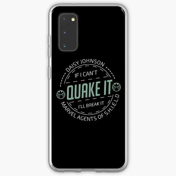 If i can't quake it, i'll break it - Daisy Johnson Samsung Galaxy Soft Case
