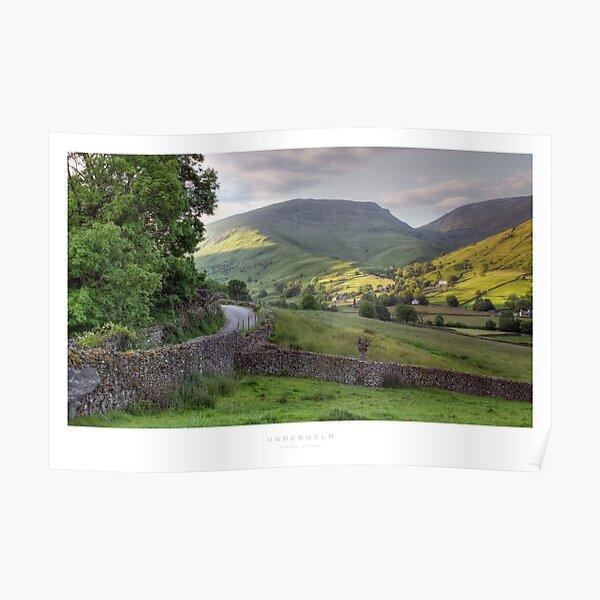 Underhelm, Lake District Poster
