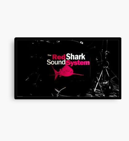 The Red Shark Sound System Canvas Print