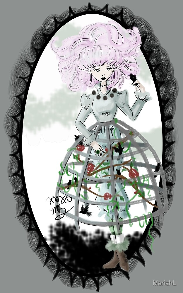 Cage Girl by MariahL