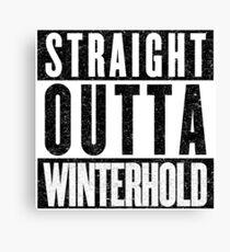 Adventurer with Attitude: Winterhold Canvas Print