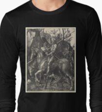 Albrecht Dürer or Durer Knight, Death and Devil Langarmshirt
