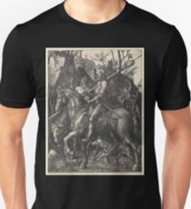 Albrecht Dürer or Durer Knight, Death and Devil Unisex T-Shirt