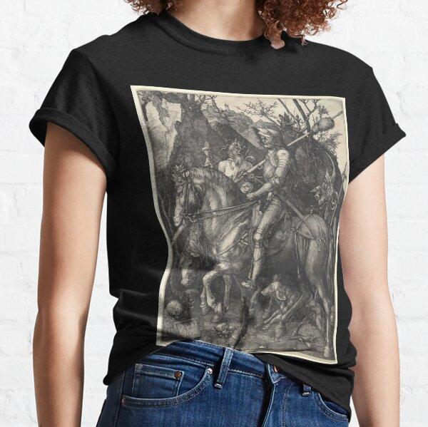 Albrecht Dürer or Durer Knight, Death and Devil Classic T-Shirt
