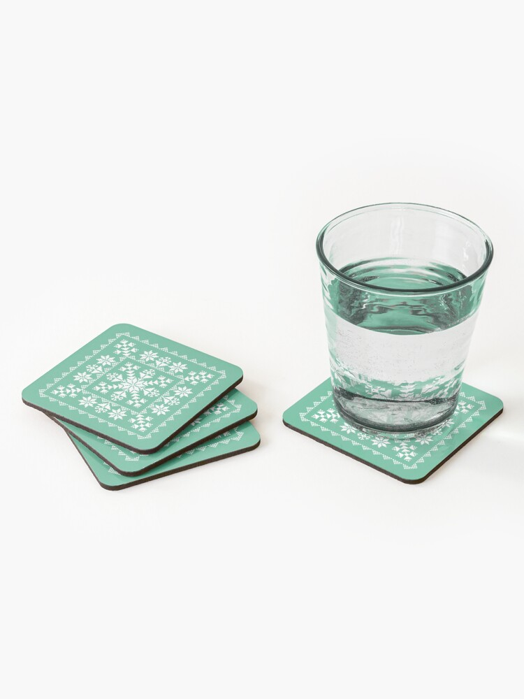 Alternate view of Nordic Folk Coasters (Set of 4)