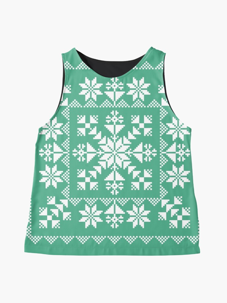 Alternate view of Nordic Folk Sleeveless Top