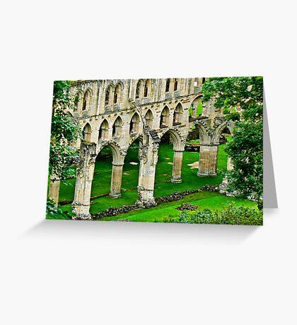Rievaulx Abbey Greeting Card