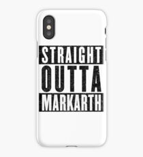 Adventurer with Attitude: Markarth iPhone Case/Skin