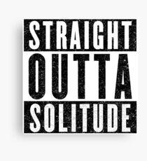 Adventurer with Attitude: Solitude Canvas Print