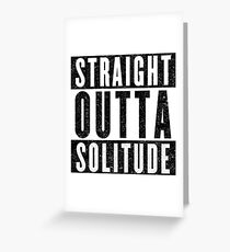 Adventurer with Attitude: Solitude Greeting Card