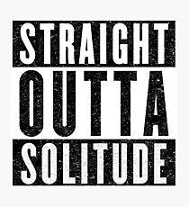 Adventurer with Attitude: Solitude Photographic Print