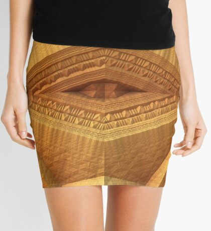 Sandstone Mini Skirt