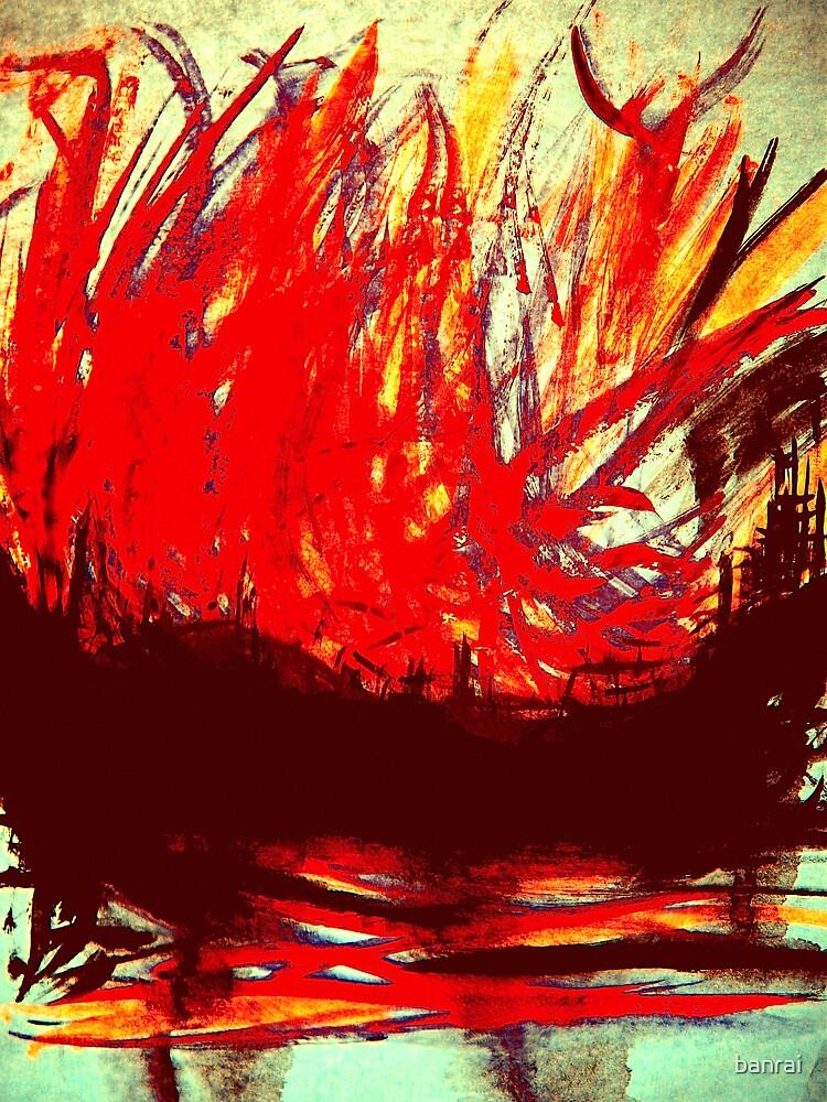 chinese junk..... raging inferno by banrai